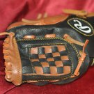 Rawlings 10 Inch Child's Leather Baseball or T-Ball Glove PP10CMB Brown / Black