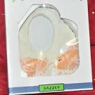 New Dazzey 3D Fish Photo Frame 2 Orange Fishes Picture Frames