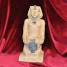 KING TUT CANDLEHOLDER EGYPTIAN PHARAOH STATUE FIGURINE for Wall or Table Decor