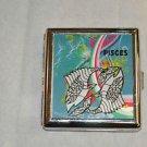 Vintage Pisces Cigarrette Case metal King size