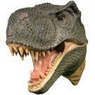 T-Rex Attack Plaque 3-D Wall Art Figurine and Mixed Materials