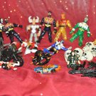Loose Figure lot Gopro Super Marvel Villians, 2in - 6in., 5+, Without Packaging