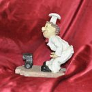 "Chef Wine Bottle Holder Kitchen Decor Cook 8"" X 6"""