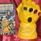Thanos Infinity Gauntlet 12in.Glove Bank PX Exclusive Marvel Comics & INFINITY
