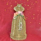 Candle Holder Metal dress style 11''Tall