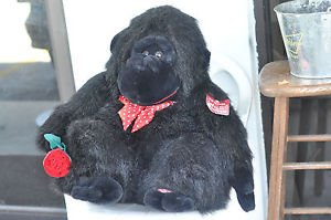 Big Black Plush Gorilla Plays The Song Wild Thing 3+, Boys & Girls and Not Sure