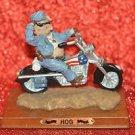 Hog's Collection~Hog Wild Figurine.Hog Custom Harley Davidson Motorcycle Figure