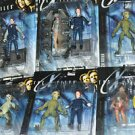 X-Files Series 1 Figurines Lot Of 6 Scully Mulder Alien  Unopened NIB 6''Tall