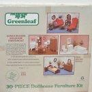 Greenleaf 30 Piece Wooden Dollhouse Furniture Kit New in Box Sealed