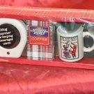 The Saturday Evening Post Coffee Warmer & Mug Gift Set