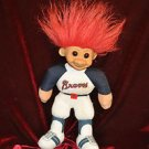Troll Braves Baseball Team plush doll 10''Tall Action Figure, Multi-Color,1 size