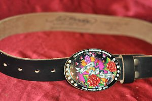 ED Hardy for the world Leather Belt by Christian Audigier