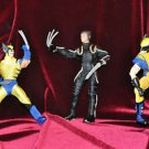 3 Wolverine Lot 2002-Now, 5+, 7in. Action Figure, Boys & Girls Without Packaging