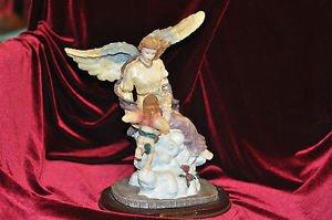 PREMIER COLLECTION ANGEL GIRL, ANGEL CHILD STATUE Ceramic