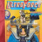 GALOOB ULTRA FORCE ULTRA HERO HARDCASE ACTION FIGURE 1980-2001, 1995, 5+ & 6in.