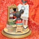 Disney-Watch Mickey Mouse paint Walt Disney Japan Vintage Figurine