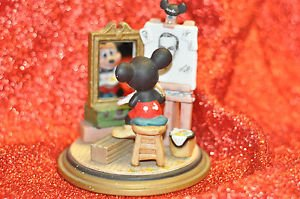 Disney-Watch Mickey Mouse paint Walt Disney Japan Vintage Figurine