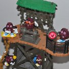 "CALIFORNIA RAISINS MOVIE SET DIORAMA Lot Of 6 From 1987-1996 Vintage 15"" X 6"""