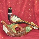 K.L.E.M. DECORATIVE BIRD CONTAINER MADE IN ITALY VINTAGE IT ROCKS Multi-Colored