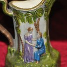 YOUNG LOVERS DECORATIVE PITCHER HOME DECOR 8''TALL CERAMIC