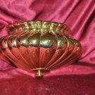 """Golden Sconce Wall Plant holder Bric a Brak Wall Hanging Decor 9"""" X 6"""""""