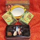 THE LORD OF THE RING 2 PLAYING CARDS & LIMITED EDITION COLLECTORS TIN 2001