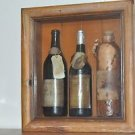 "Collectible Wine Display Wall decor 10.5"" X 9.5"""