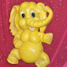 1973 Homco Vintage Yellow Elephant Figurine 12''tall by 9''Wide
