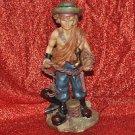 Nautical PIRATE SAILOR Scupture Pirates Figurine Statue Man Cave Decor 12' X 5'