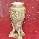CLAY POTTERY HOME DECOR ROMAN STYLE 11''TALL Multi-Colored and