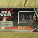 Star Wars Episode 1 Clash of the Lightsabers Card Game  PEWTER FIGURES 1999