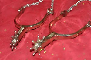 Cowboy LOT Spurs Brushed Stainless Steel Collar & Ankle Jewlery LOT