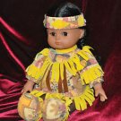 GI GO TOYS NATIVE AMERICAN GIRL DOLL 12 INCHES Not Sure and