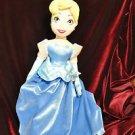 "20"" Disney Store Cinderella Plush Stuffed Soft Doll Boys & Girls & Not Sure 3+"