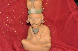 """Indian Sitting Flower Vase Tradition Style 12""""in."""