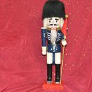 NUTCRACKER WOODEN SOLDIER 14''TALL 4''WIDE