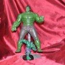 """Marvel Figurine Special 9"""" Hulk Figure Plus 5"""" Hulk lot"""