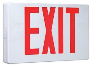 EXIT SIGN COOPER LIGHTING APX6R