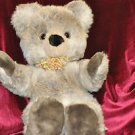 Vintage Althan Teddy Bear 26''Tall WEST GERMANY Beautiful Fabric and Plush Item