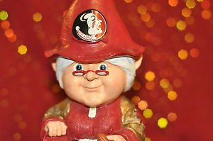 "Florida State Garden Female Football Gnome 11"", Unisex Adult and Regular Season"