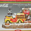 Emmett Kelly's Coca Cola Limited Edition THIRST STOPS HERE Collectible 100th Yr