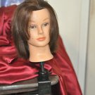 Hair Hairdressing Training Head Clamp Salon Mannequin also Tilts