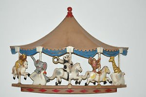 CAROUSEL Wall Hanging 1979 UNIVERSAL Horses, Multi-Color, Not Sure and Unisex