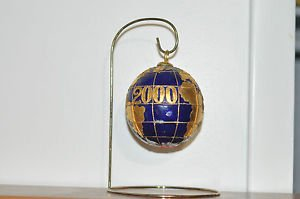 Year 2000 Millennium Globe Desk Top with Stand Very Rare