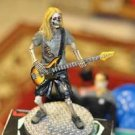 The Skeleton Playing Electric Guitar Fantasy & Mythology, Mixed Materials,