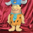"Fred Flintstones Plush 14"" Buffalo Hat Mouse Lodge"