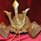Japanese Samuri helmet Cast Iron figurine