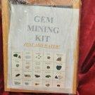 Gem mining kit with Ruby, Sapphire, Emerald, Topaz, Amethyst, Many More Specimen