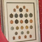27 MIXED ANTIQUE METAL SPORTS AWARDS (TRACK)