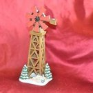 Village Christmas Collectible Windmill 11""